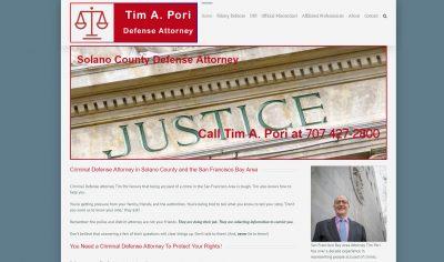 Tim Pori's Solano County site